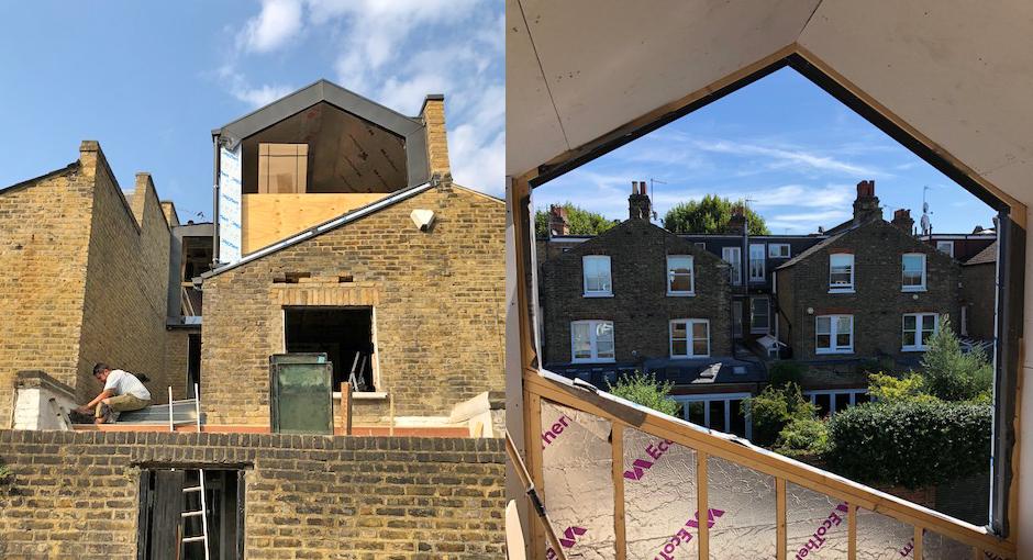 Clapham Loft and Ground Floor Extension